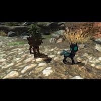 Timberwolfs in Skyrim画像