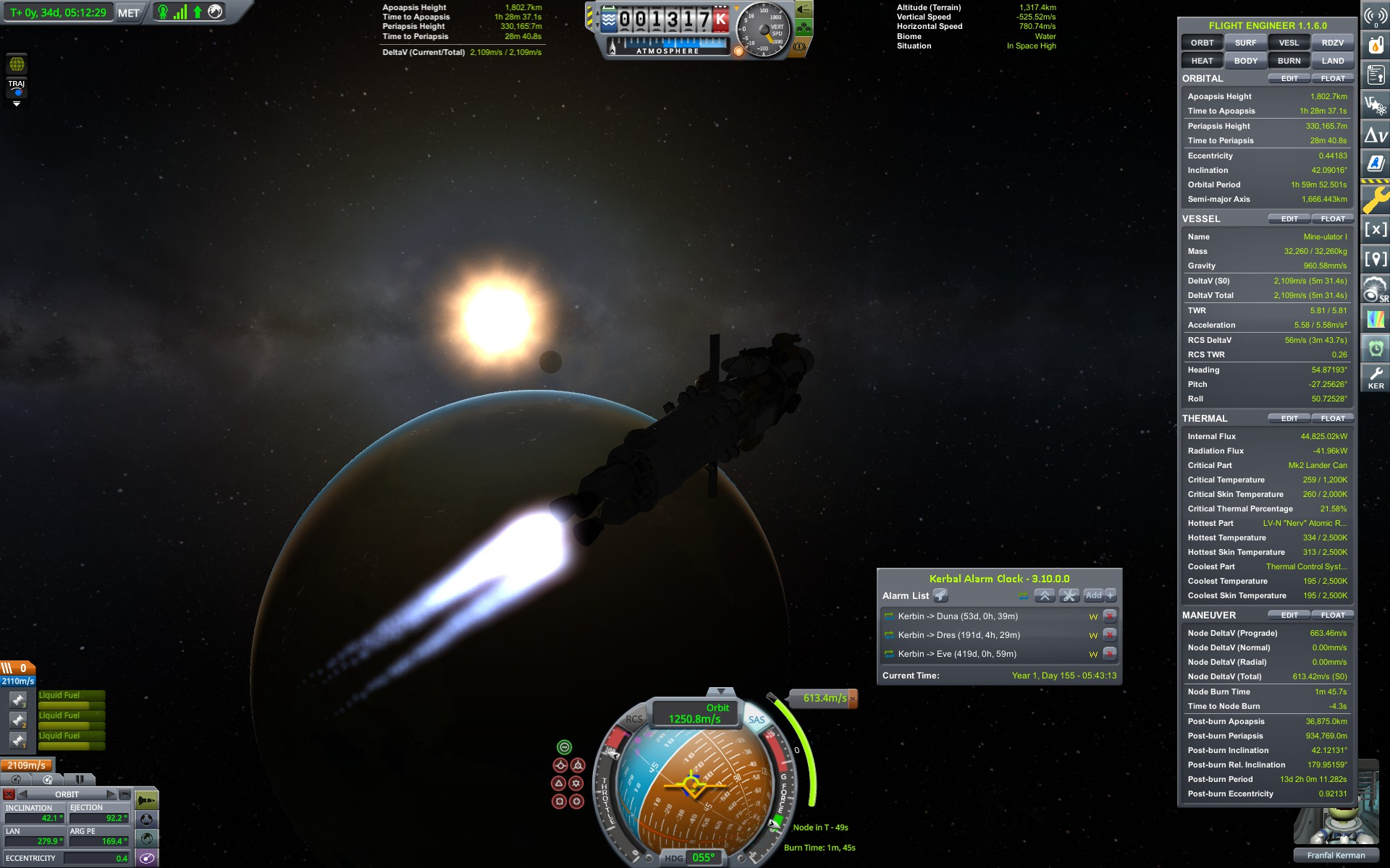 Kerbal Space Program - Games - Quarter To Three Forums on kerbal delta v map, h1z1 road map, kerbal space forum map, example of delta on map, ksp mun map, ksp delta-v map, ksp kerbin map, planetside 2 road map,