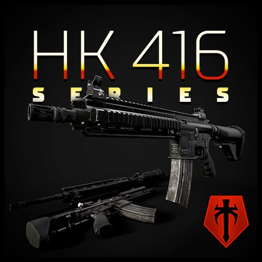 HK416 & L115 xcom 2