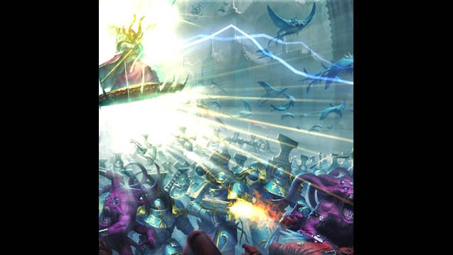 Download Thousand Sons Art PNG