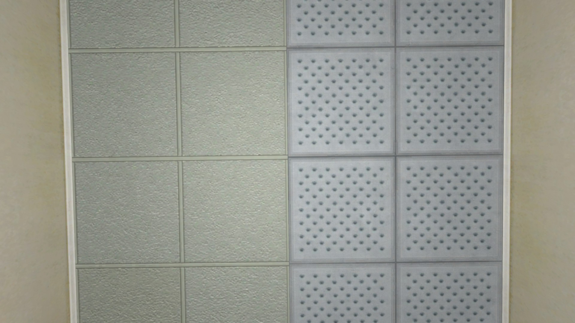 The problem of lighting in office complex leak free black actual ceiling tiles even ones that have been around for a while and accumulated some dirt just arent that color dailygadgetfo Image collections
