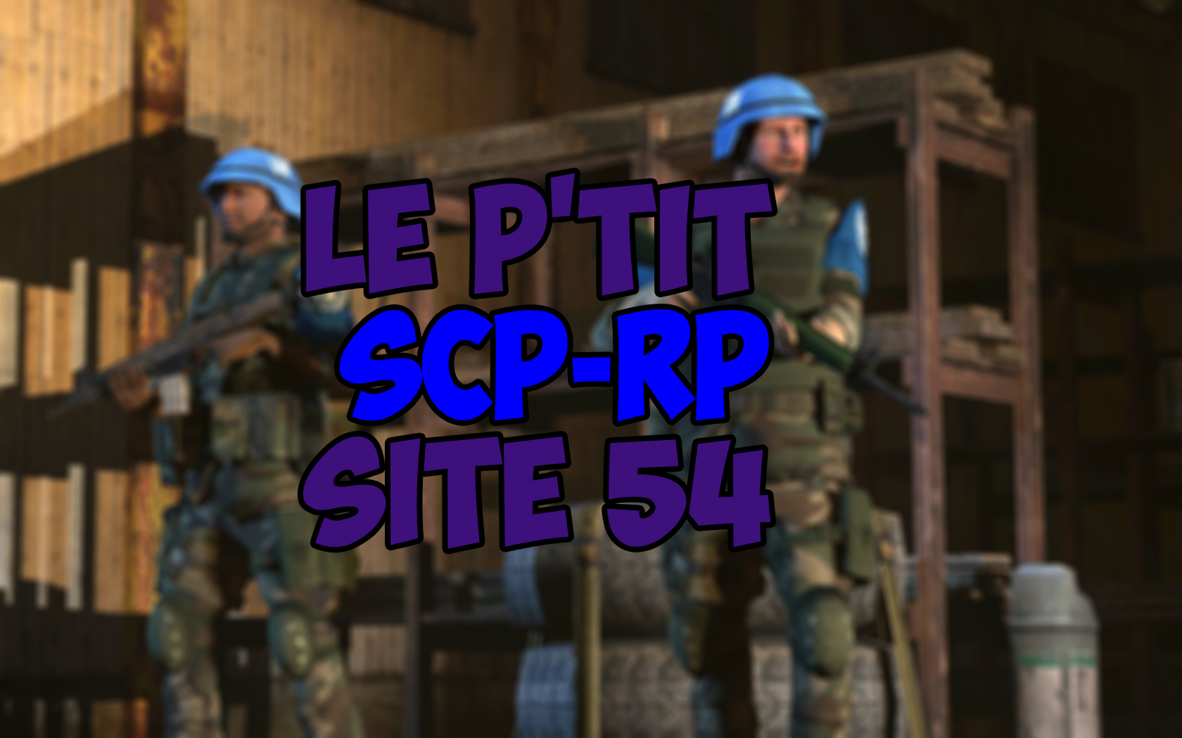 Steam Workshop :: Le P'tit SCP - Sérious RP