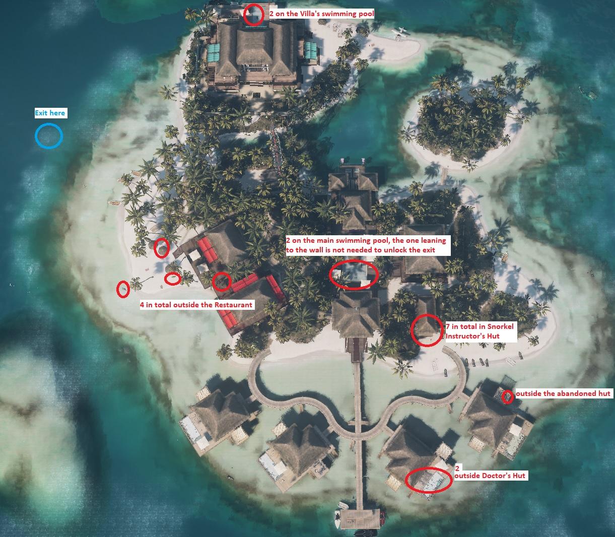 Steam Community Guide Haven Island Last Resort Challenges Achievements Walkthroughs