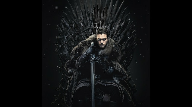Steam Workshop Game Of Thrones Jon Snow On The Iron Throne