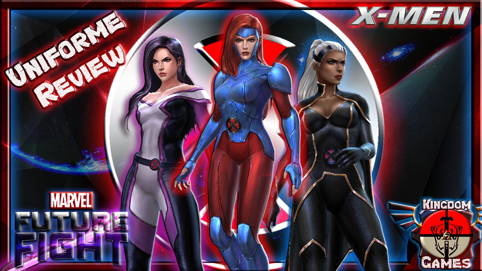Marvel Future Fight Jean Psylocke Storm Wallpaper