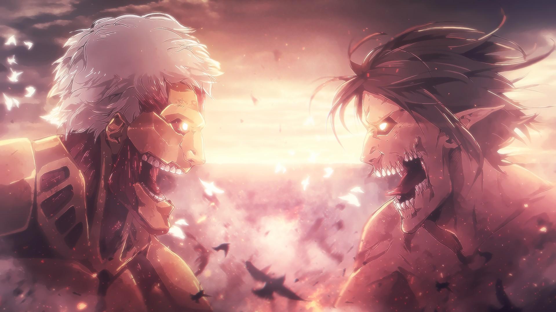 Wallpaper Engine - Shingeki no Kyojin Anime Soundtracks Animated Wallpaper