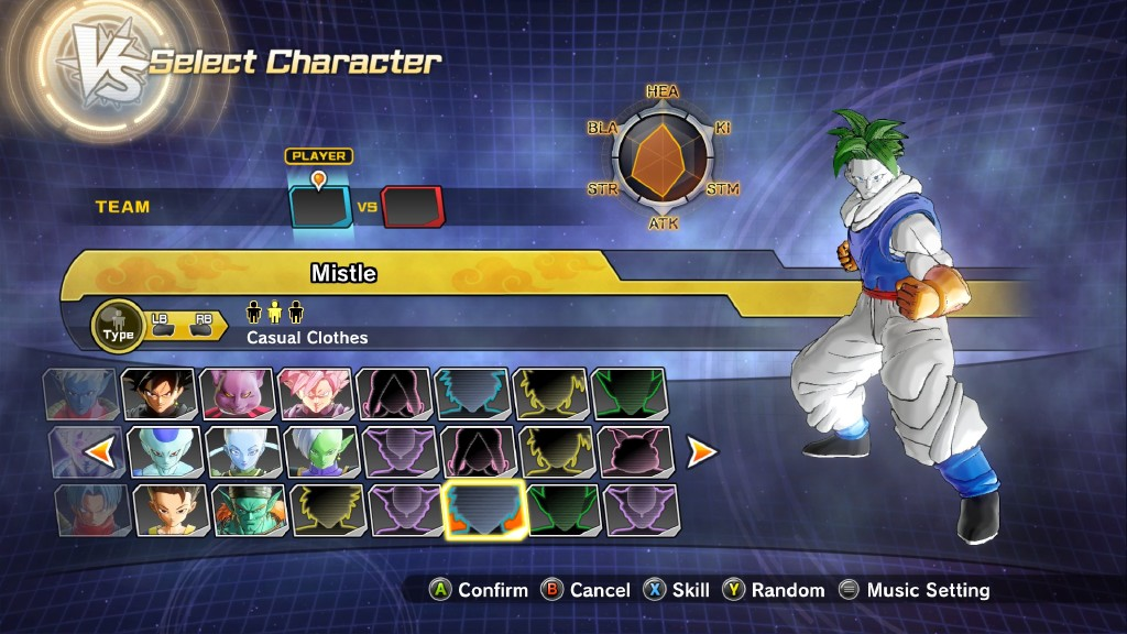 Who's Your Create a Character? (Xenoverse 1&2) • Kanzenshuu
