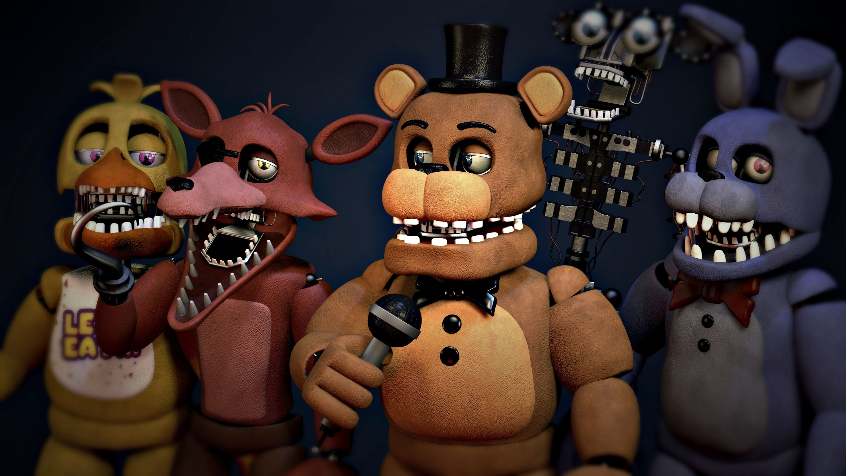 Steam Workshop :: [FNaF2] Old Animatronics Pack by CoolioArt