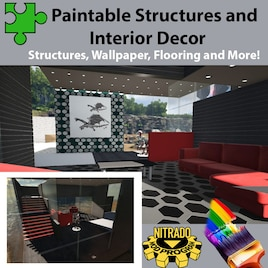 Steam Workshop Paintable Structures And Interior Decor