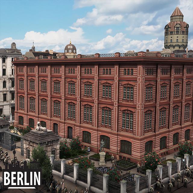 Steam Workshop Berliner Bauakademie University Building