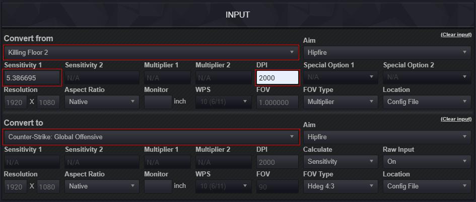 Steam Community Guide Setup A 1 1 Zoom Sensitivity