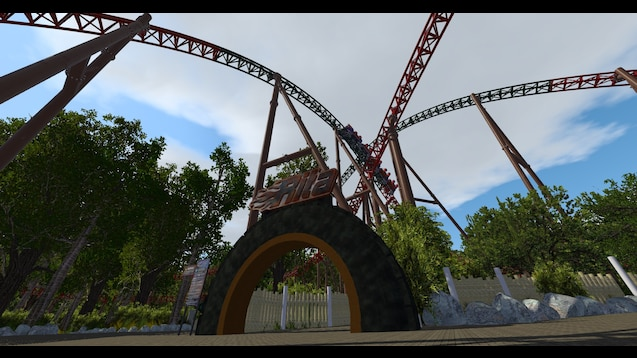 Steam Workshop :: Alton Towers - Dark Forest