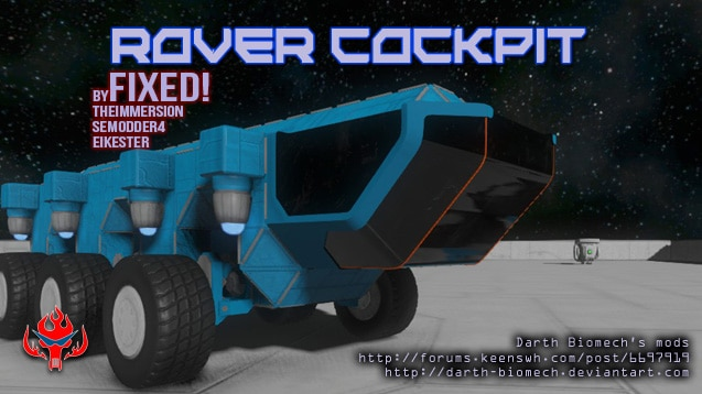 Steam Workshop :: Rover Cockpit (Fixed)