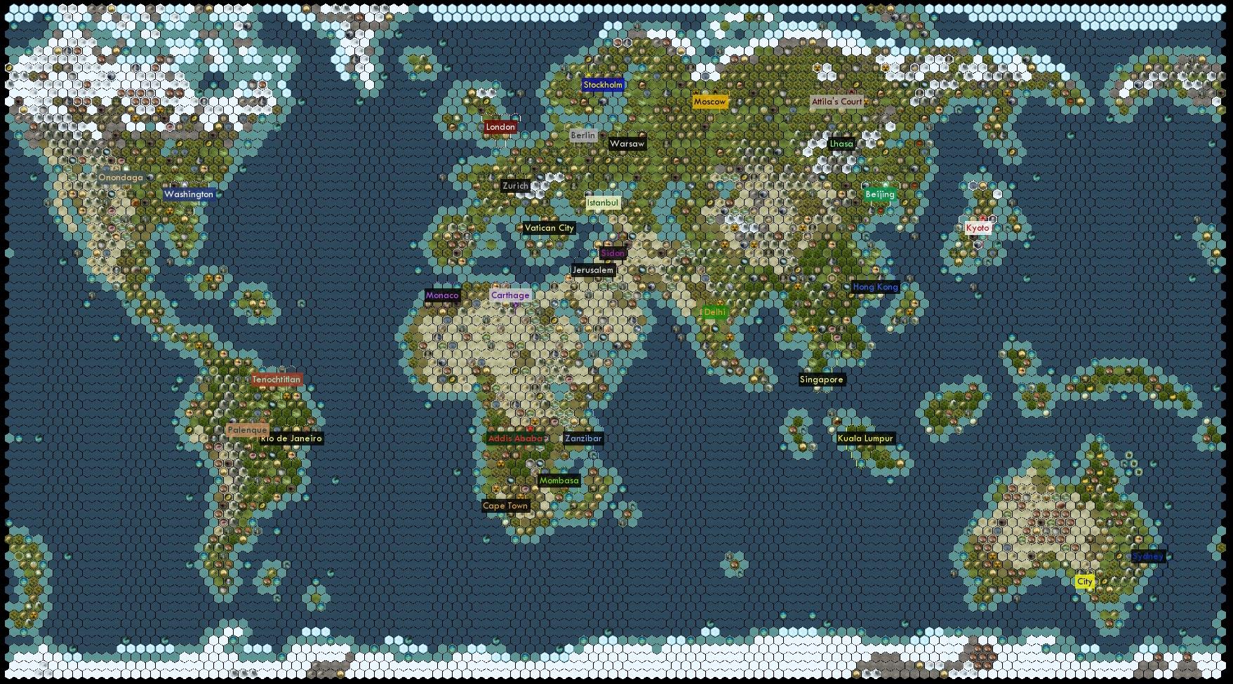Steam Workshop :: My intepratation of a Earth map Civilization 5
