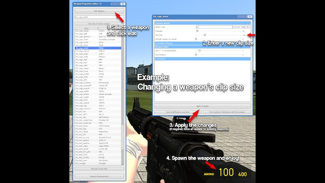 Steam Workshop :: Weapon Editor & Replacer