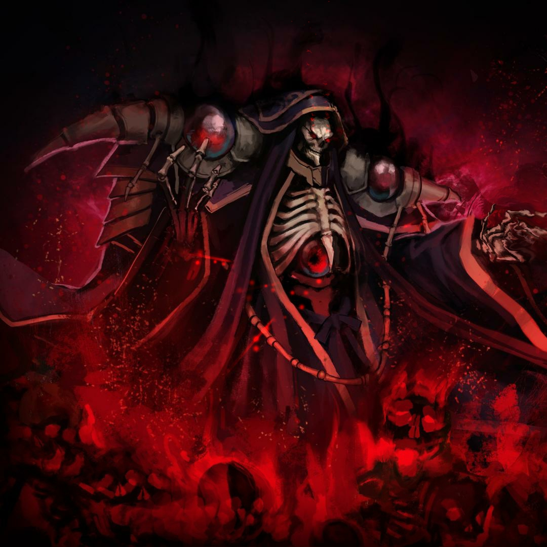 Steam Workshop Overlord Ainz Ooal Gown The Undead King Wallpaper 1920x1080