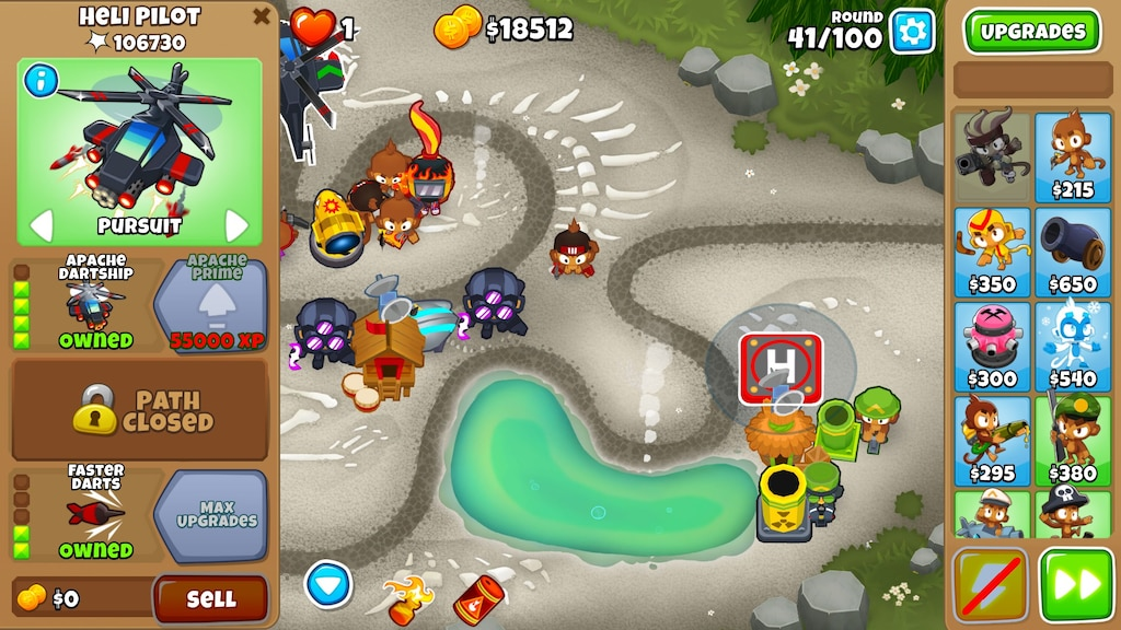 Steam Community :: Screenshot :: bug/glitch in Btd 6  I was