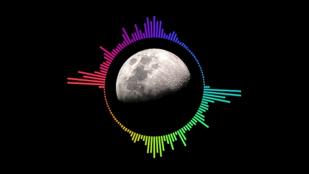 Steam Workshop :: Moon Rainbow Audio Visualizer