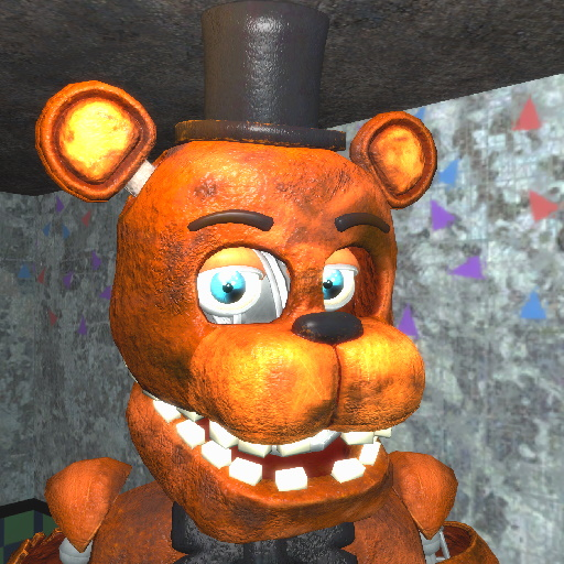 Gmod Fnaf Withered Animatronics