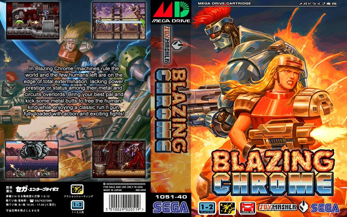 Steam Community :: :: Blazing Chrome Mega Drive Version
