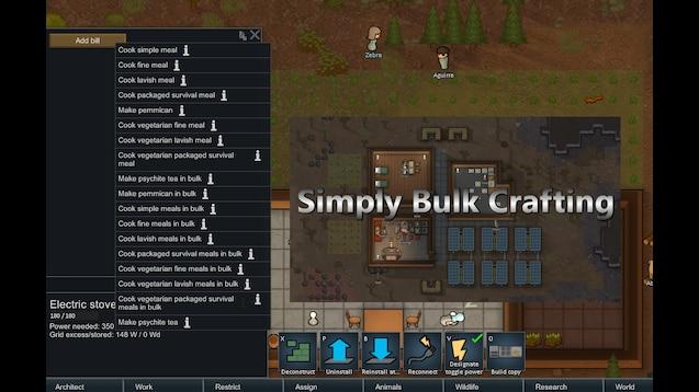 Steam Workshop :: Vegetarian Meals Bulk Cooking Patch
