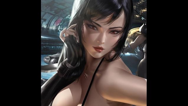 Steam Workshop Tifa Lockhart 18 X Ray Final Fantasy