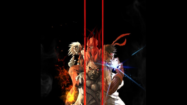 Steam Workshop Street Fighter Ryu Ken Akuma Shoto