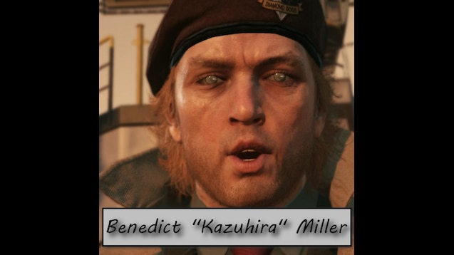Steam Workshop Metal Gear Solid Benedict Kazuhira Miller I finished the game.no one else has riddick eyes. steam workshop metal gear solid
