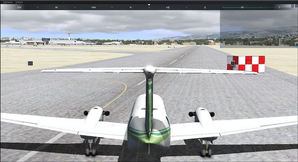 Steam Community :: Screenshot :: FSX on FSW- Kingair 350 landin on