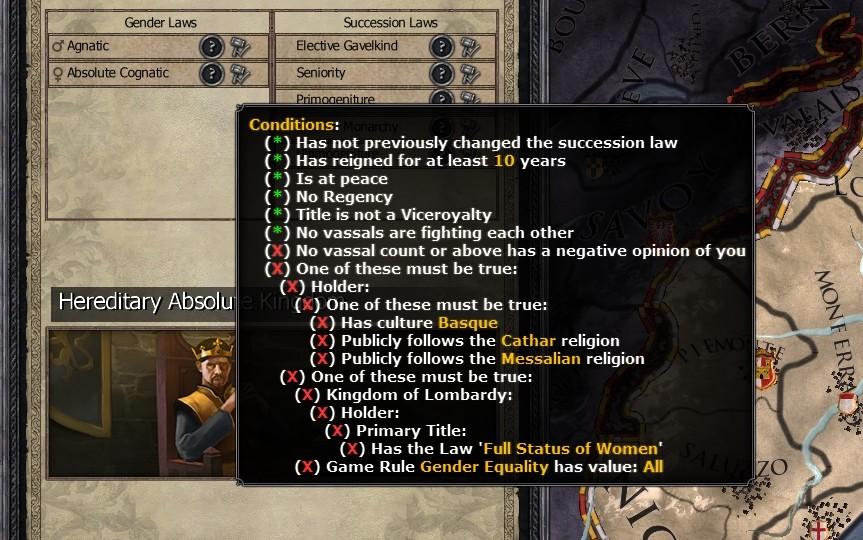 Steam Community :: Guide :: Succession laws