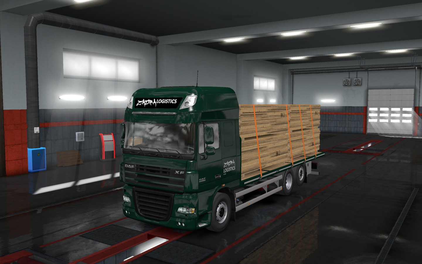 REL] Flatbed Addon For Tandem for Rigid chassis pack for all SCS