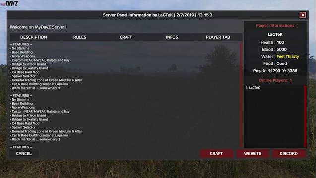 Steam Workshop :: Server_Information_Panel