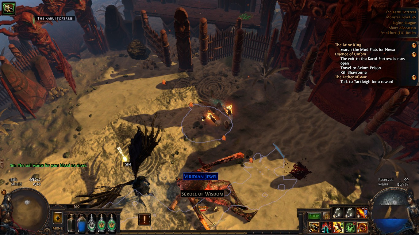 Forum - Bug Reports - Cant respawn - Path of Exile
