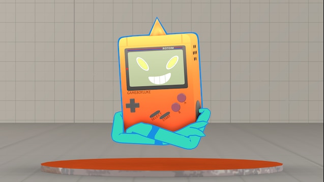 Steam Workshop :: GBL Gameboy Rotom [Custom Pokémon Model]