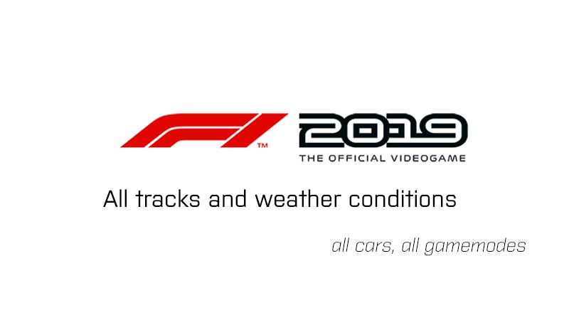 Steam Workshop :: F1 2019 setups (all tracks by f1carsetup com)