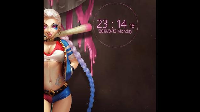 Steam Workshop Jinx League Of Legends 4k Synthwave