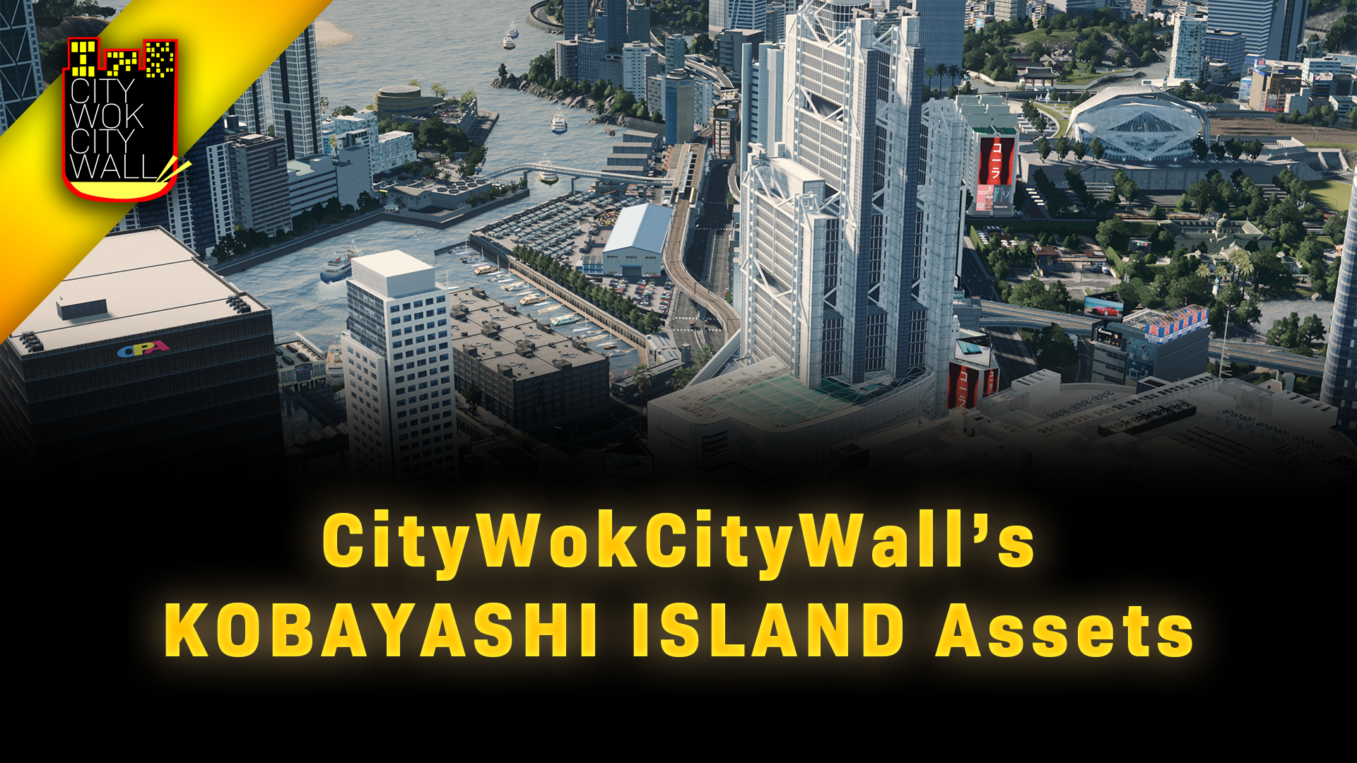Steam Workshop Citywokcitywall S Kobayashi Island Assets