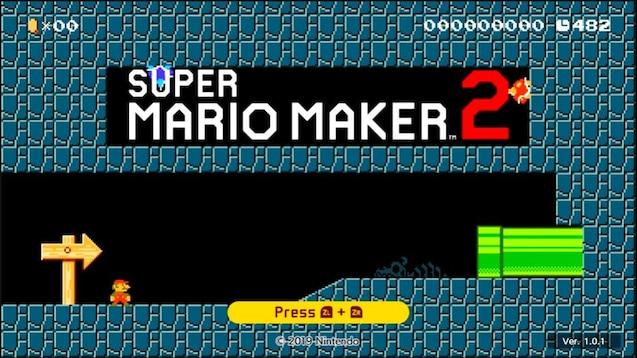 Steam Workshop :: Super Mario Maker 2 Underground Title Screen