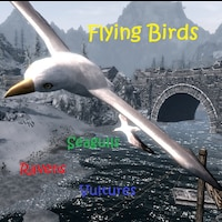 Flying Birds of Skyrim画像