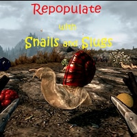 Repopulate Skyrim with Snails and Slugs画像