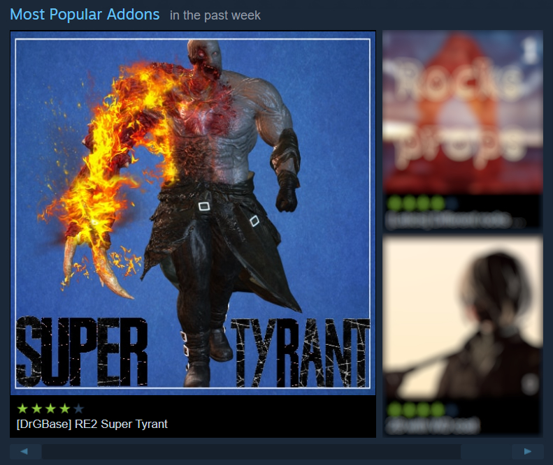 Steam Workshop Drgbase Re2 Super Tyrant