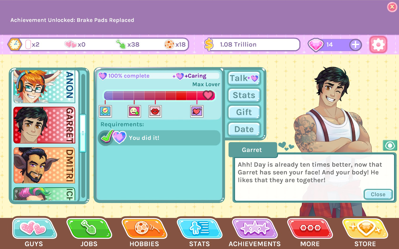 översatt dating Sims PC