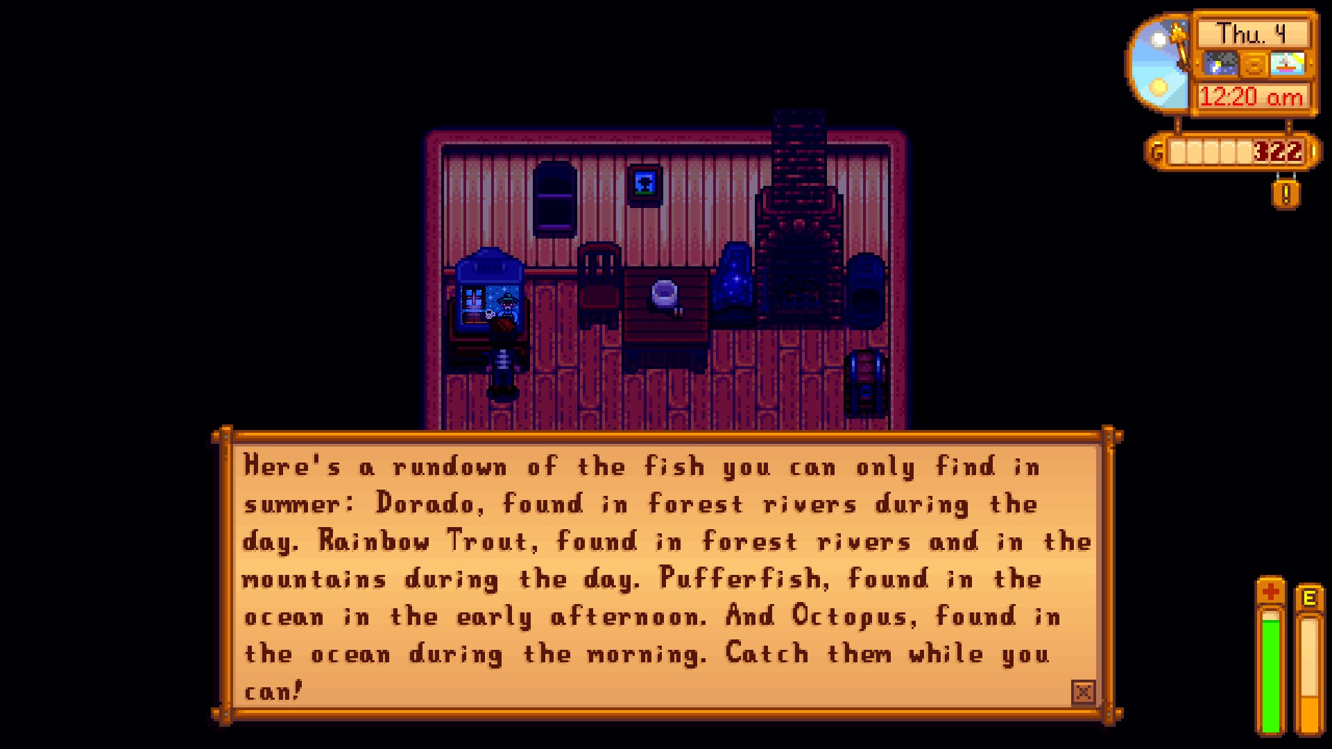 Steam Community Screenshot Specialty Fishing Advice I Ll Want Later I can tell when it's a pufferfish, too; steam community