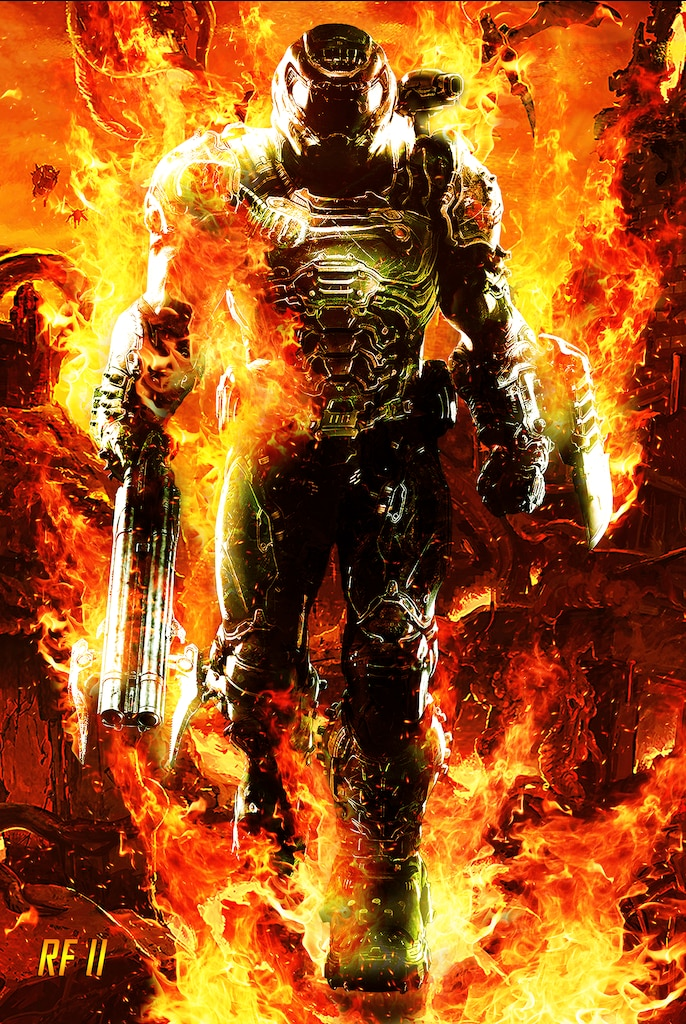 Steam Community Doom Slayer The Eternal Flame