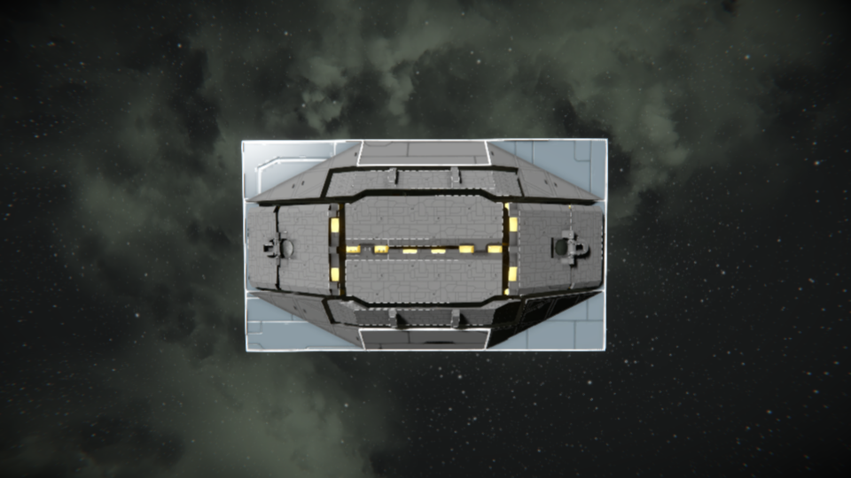 Outer drum landing gear (no mod)