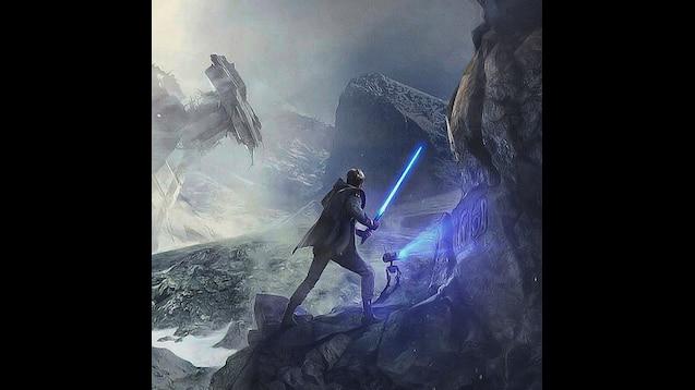 Steam Workshop Star Wars Jedi Fallen Order I 3840 X 1080 Dual Monitor With Clock
