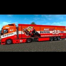 Marc Marquez Truck & Trailer