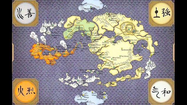 Steam Workshop :: Avatar The Last Airbender Map (Huge)