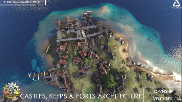 Steam workshop castles keeps and forts medieval architecture malvernweather Gallery