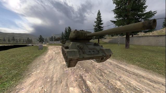 Steam Workshop :: (Simfphys-Armed) T-34/85